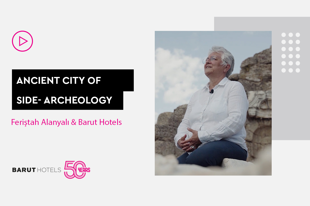 50th Anniversary interview with Side Ancient City Excavation Head Professor Dr. Feriştah Alanyalı