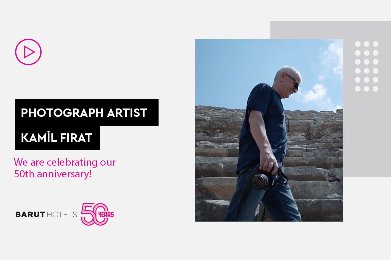 50th Anniversary Interview with Photographer Kamil Fırat